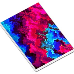 Psychedelic Storm Large Memo Pads
