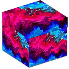Psychedelic Storm Storage Stool 12