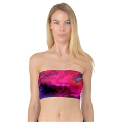 Psychedelic Storm Women s Bandeau Tops