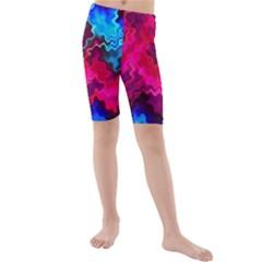Psychedelic Storm Kid s swimwear