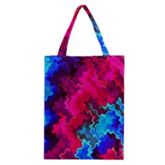Psychedelic Storm Classic Tote Bags