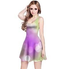 Modern Bokeh 7 Reversible Sleeveless Dresses