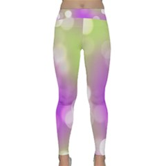 Modern Bokeh 7 Yoga Leggings