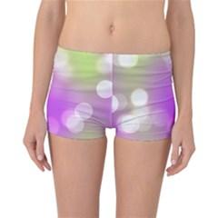 Modern Bokeh 7 Reversible Boyleg Bikini Bottoms
