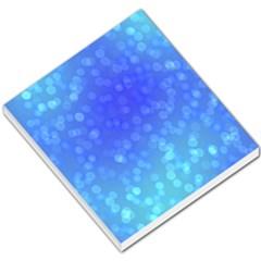 Modern Bokeh 8 Small Memo Pads