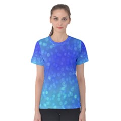 Modern Bokeh 8 Women s Cotton Tees