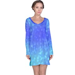 Modern Bokeh 8 Long Sleeve Nightdresses