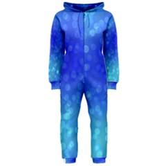 Modern Bokeh 8 Hooded Jumpsuit (Ladies)