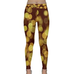 Modern Bokeh 9 Yoga Leggings
