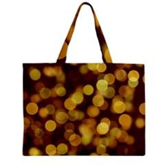 Modern Bokeh 9 Zipper Tiny Tote Bags