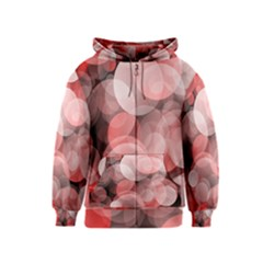 Modern Bokeh 10 Kids Zipper Hoodies