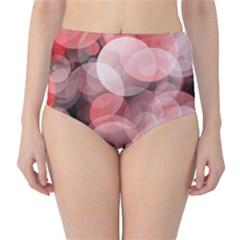 Modern Bokeh 10 High-Waist Bikini Bottoms