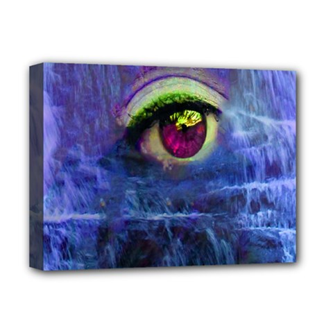 Waterfall Tears Deluxe Canvas 16  X 12