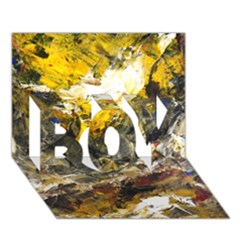 Surreal BOY 3D Greeting Card (7x5)