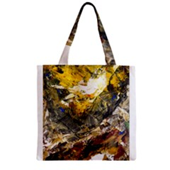 Surreal Zipper Grocery Tote Bags