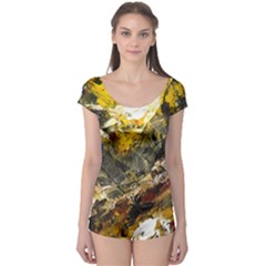 Surreal Short Sleeve Leotard