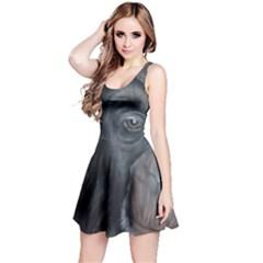 Humans Reversible Sleeveless Dresses