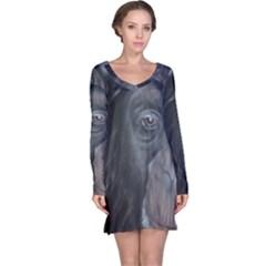 Humans Long Sleeve Nightdresses