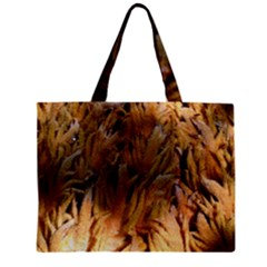 Sago Palm Zipper Tiny Tote Bags