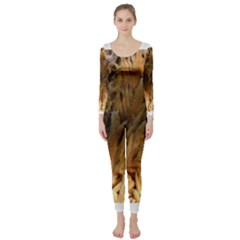 Sago Palm Long Sleeve Catsuit