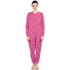Cute Pretty Elegant Pattern OnePiece Jumpsuit (Ladies)
