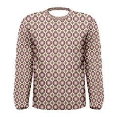 Cute Pretty Elegant Pattern Men s Long Sleeve T Shirts