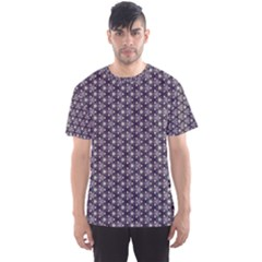 Cute Pretty Elegant Pattern Men s Sport Mesh Tees