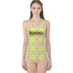 Cute Pretty Elegant Pattern Women s One Piece Swimsuits