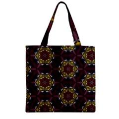 Cute Pretty Elegant Pattern Zipper Grocery Tote Bags