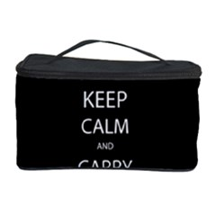 Keep Calm and Carry On My Wayward Son Cosmetic Storage Cases