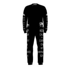 Keep Calm And Carry On My Wayward Son Onepiece Jumpsuit (kids)