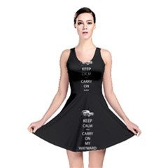 Keep Calm and Carry On My Wayward Son Reversible Skater Dresses