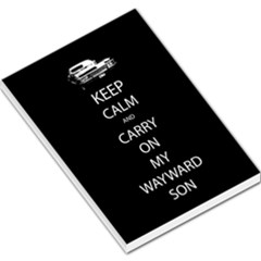 Carry On Centered Large Memo Pads