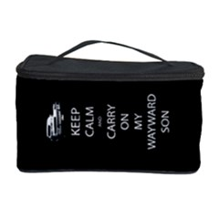 Keep Calm and Carry On My Wayward Son Cosmetic Storage Case