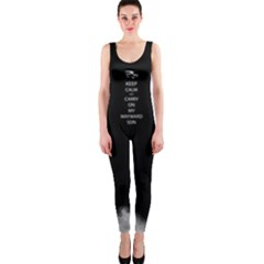 Keep Calm and Carry On My Wayward Son OnePiece Catsuit