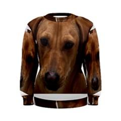 Dachshund Women s Sweatshirts