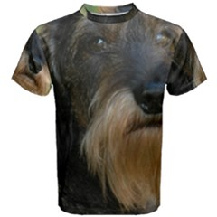 Wirehaired Dachshund Men s Cotton Tees