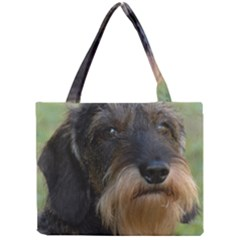 Wirehaired Dachshund Tiny Tote Bags