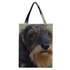 Wirehaired Dachshund Classic Tote Bags