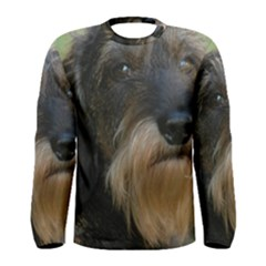 Wirehaired Dachshund Men s Long Sleeve T-shirts