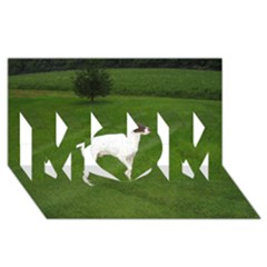 German Shorthair Pointer Full MOM 3D Greeting Card (8x4)
