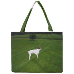German Shorthair Pointer Full Tiny Tote Bags
