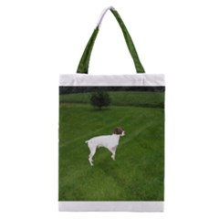 German Shorthair Pointer Full Classic Tote Bags