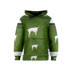 German Shorthair Pointer Full Kid s Pullover Hoodies