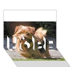 Norfolk Terrier Full HOPE 3D Greeting Card (7x5)
