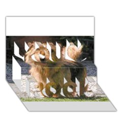 Norfolk Terrier Full You Rock 3D Greeting Card (7x5)