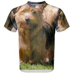Norfolk Terrier Full Men s Cotton Tees