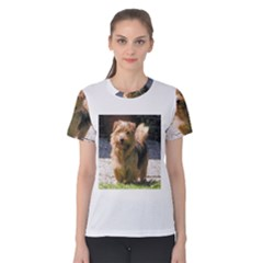 Norfolk Terrier Full Women s Cotton Tees