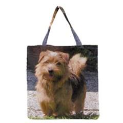 Norfolk Terrier Full Grocery Tote Bags