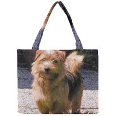 Norfolk Terrier Full Tiny Tote Bags